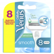 Gillette for Women Venus Smooth Sensitive Systemklingen 8er